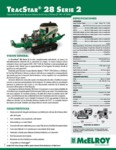TracStar 28 Series 2 Spec Sheet - SPANISH