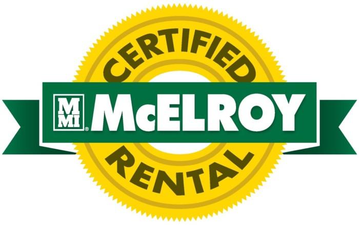 Certified McElroy Rental logo