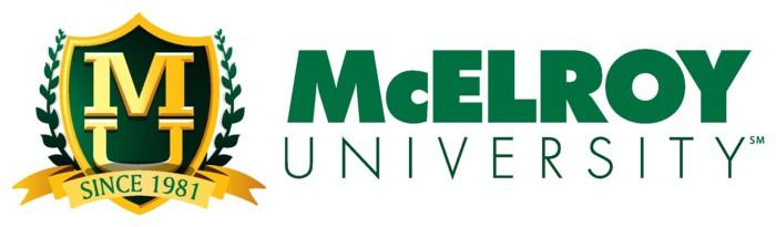 McElroy Unviersity logo