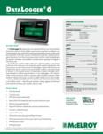 DataLogger 6 Spec Sheet