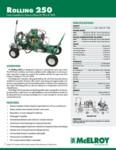 Rolling 250 Spec Sheet