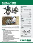 Pit Bull 412 Spec Sheet