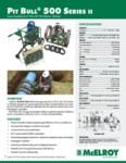 Pit Bull 500 Series II Spec Sheet