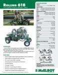 Rolling 618 Spec Sheet