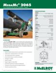 MegaMc 2065 Spec Sheet