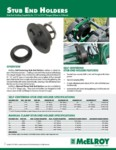 Stub End Holder Spec Sheet
