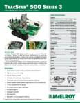 TracStar 500 Series 3 Spec Sheet