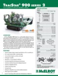 TracStar 900 Series 2 Spec Sheet