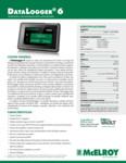 DataLogger 6 Spec Sheet - Spanish