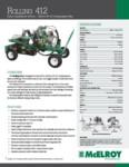 Rolling 412 Spec Sheet