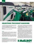 Pipe Fusion: Selecting the Right Machine