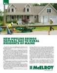 New Pipeline Brings Natural Gas to Rural Residents of Maine