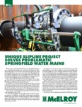 Unique Slipline Project Solves Problematic Springfield Water Mains