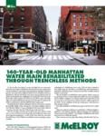 140-Year Old Manhattan Water Main Rehabilitated Through Trenchless Methods