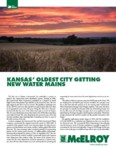 Kansas Oldest City Getting New Water Mains