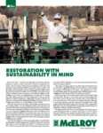 restoration with sustainability in mind