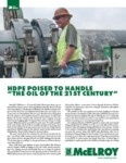 hdpe poised to handle the oil of the 21st century