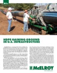 hdpe gaining ground in us infrastructure