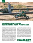 double duty fusion technicians play piggyback