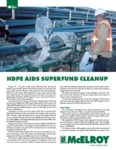 hdpe aids superfund cleanup