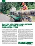 dalton utilities rehabilitates entire county water infrastructure