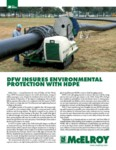 dfw insures environmental protection with hdpe