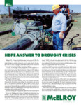 hdpe answer to drought crises