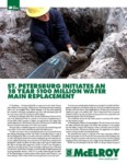 st petersburg initiates an 18 year 100 million dollar water main replacement