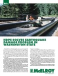 hdpe solves earthquake damage problem in washington state