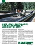 hdpe solves earthquake damage problem in washington state