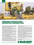 pipeline contractor improves capabilities
