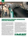 innovative water operation solves problem