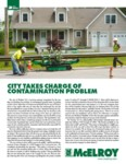 city takes charge of contamination problem