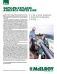 sapulpa replaces asbestos water line