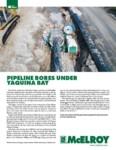pipeline bores under yaquina bay