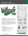Acrobat 160 Spec Sheet