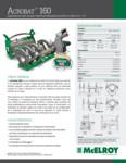 Acrobat 160 Spec Sheet - SPANISH