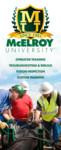 McElroy University Banner