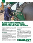 Massive Water Pipeline Being Built in West Texas Public-Private Partnership