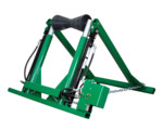 hydraulic pipe support stand