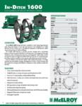 In-Ditch 1600 Spec Sheet