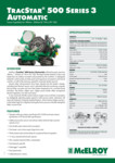 TracStar 500 Series 3 Automatic Spec Sheet