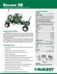 Rolling 28 Spec Sheet - SPANISH