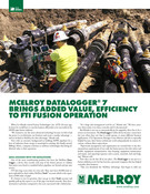 McElroy DataLogger® 7 brings added value, efficiency to FTI fusion operation