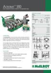 Acrobat 160 Spec Sheet - A4