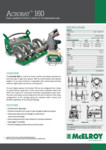 Acrobat 160 Spec Sheet - A4